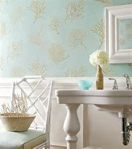 Bathroom Wallpaper Turquoise Turquoise And Gold Wallpaper Traditional Bathroom