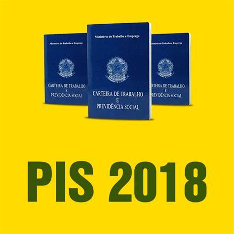 Calendario Do Pis 2017 E 2018 Pis 2018 Calend 225 Pis Consulta Tabela E Saque Saiba