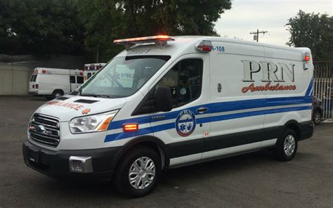 Ford Transit Ambulance by Prn Adds New Ford Transit Ambulances To Growing Fleet