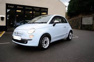 Baby Blue Fiat 500 For Sale Fiat 500 1 4 Lounge Convertible