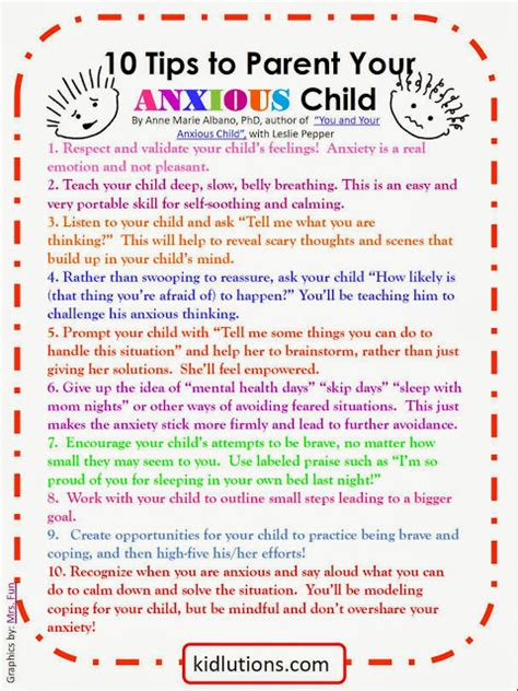 9 Tips On Getting Your Child To Like School by Quot Spin Doctor Parenting Quot 10 Tips To Parent Your Anxious Child