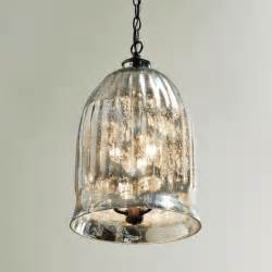 Foyer Pendants Antique Mirror Bell Pendant Lantern Outdoor Hanging