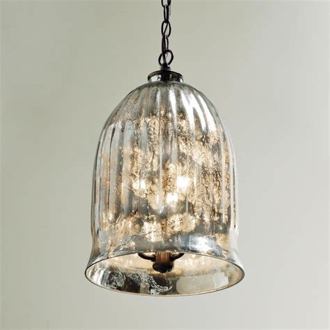 Antique Glass Pendant Lights Antique Mirror Bell Pendant Lantern Outdoor Hanging Lights By Shades Of Light