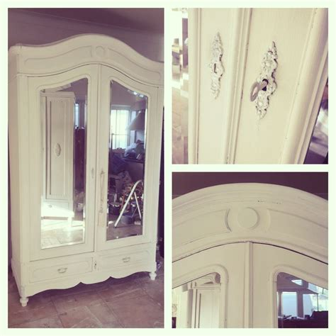 blanc des blancs armoire with silver accents furniture