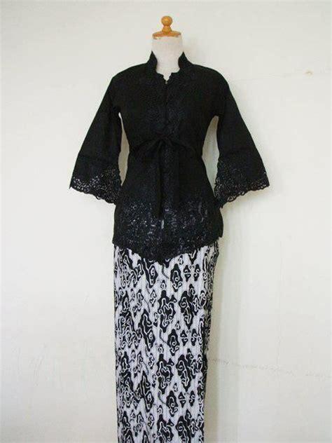 Sale Dress Katun kebaya hitam bahan katun kebaya s traditional tops kimonos and kebaya