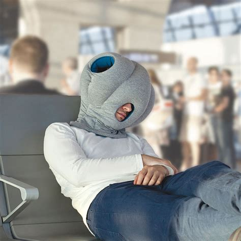Skymall Travel Pillow by The Power Nap Pillow Hammacher Schlemmer