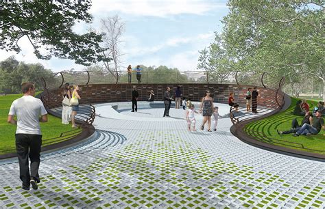 design concept memorial park zerafa studio designs memorial for orange county crime