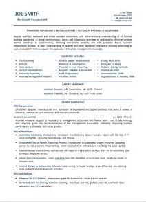 Sle Resume Trainee Accountant Sle Resume For Professional Accountant Advert Template 28 Images Accounting