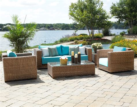 Patio Furniture Nyc by South Outdoor Wicker Furniture Traditional Patio