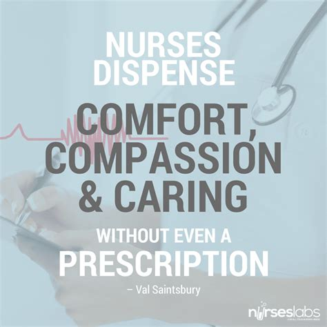 nursing for comfort quotes by val saintsbury like success