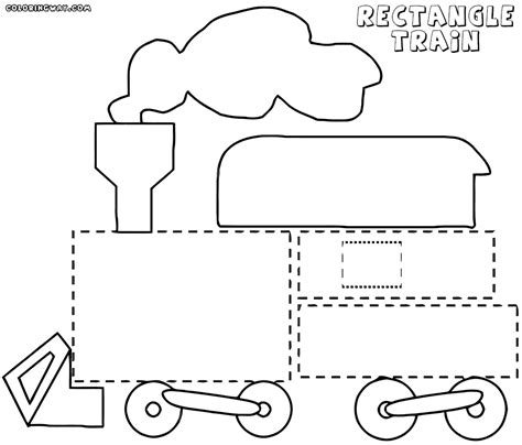 rectangle coloring pages coloring pages to download and