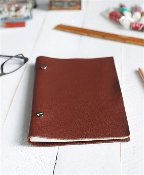 sketch book leather diy leather sketchbook 187 the merrythought