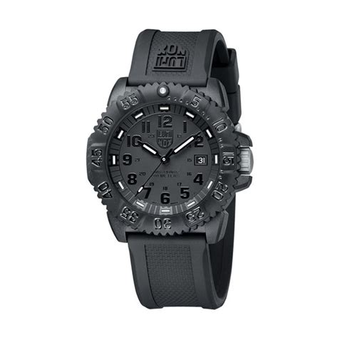 Harga Jam Tangan Luminox Series 3050 jual luminox black out navy seal colormark 3050 series