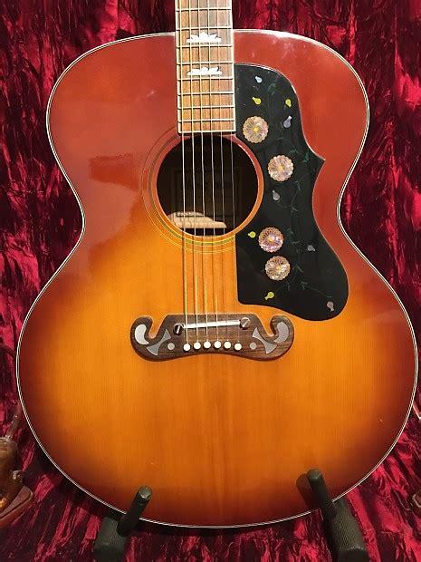 Ibanez Jumbo ibanez concord 698 jumbo 1974 2 tone sunburst guitars mojo reverb