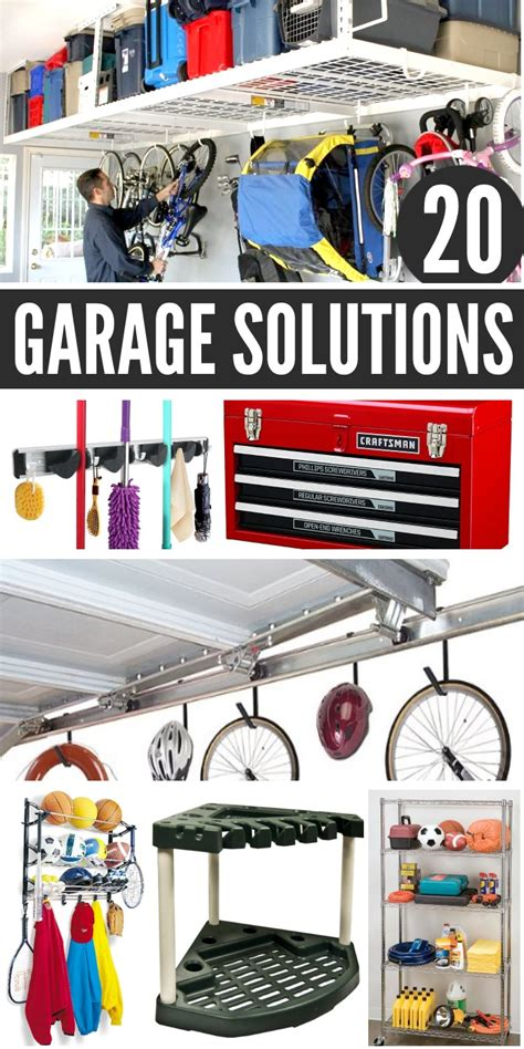 organization solutions 20 garage storage ideas to eliminate clutter