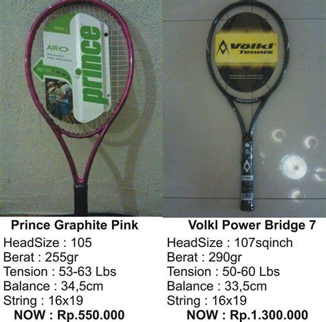 Raket Prince raket prince toko tennis pertama di indonesia