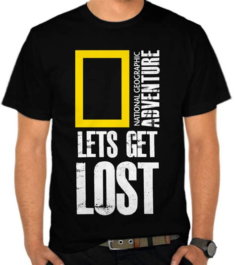 kaos natgeo adventure traveling jual kaos national geographic adventure get lost 2