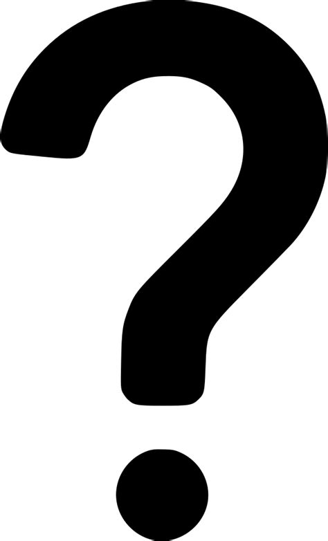 question mark svg png icon