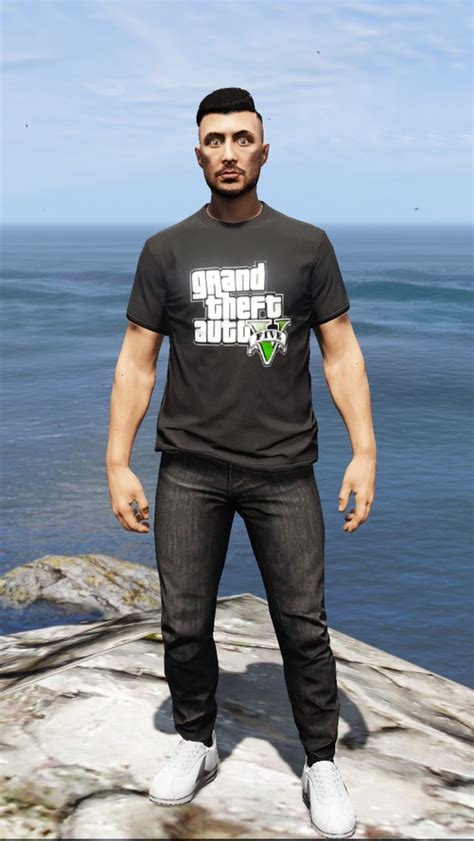 mod gta 5 character rockstar warehouse t shirts for online character gta5