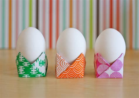 how to make origami easter eggs easy origami egg holders how about orange