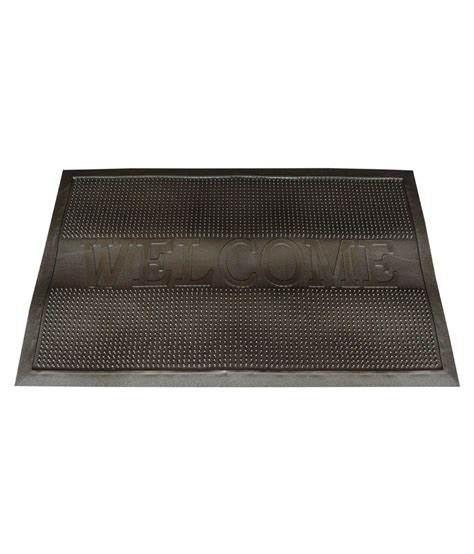 majesty home decor welcome pin grey door mat buy majesty