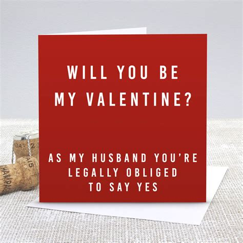 what to write in my fiance valentines card husband be my s day card by slice of