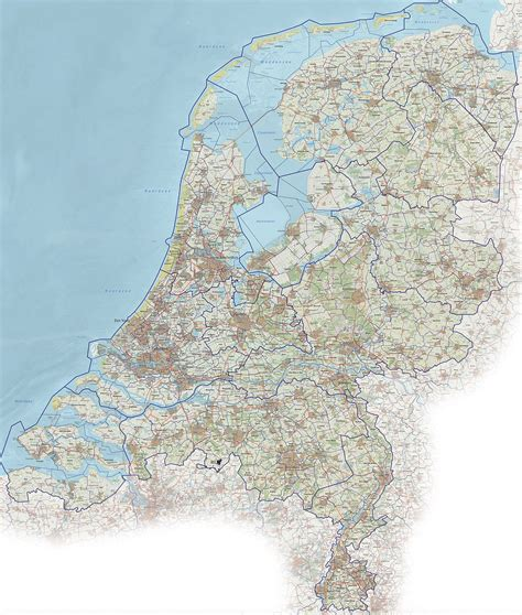 netherlands motorway map roads in the netherlands