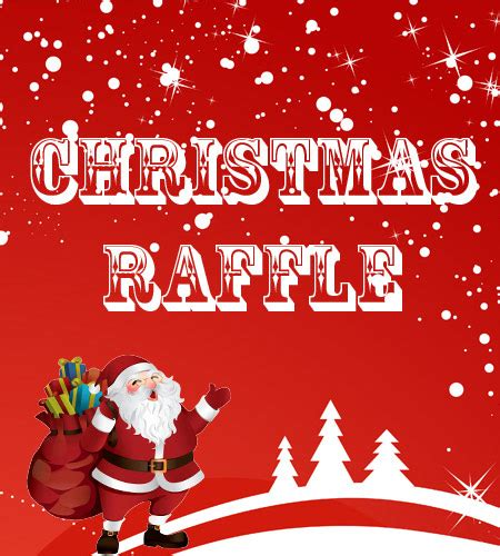 christmas raffle prize ideas will you be a winner in our 3 000 raffle capalaba sports club