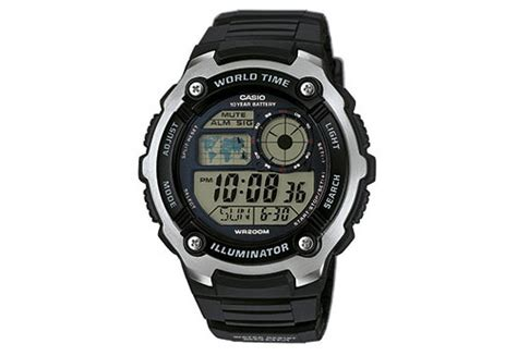 Casio Standar Original Ae 2100w 4a casio watchband ae 2100w 1avef