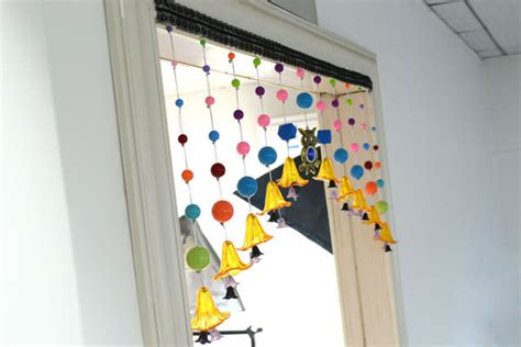 make your own beaded curtain diy decorating tip junkie