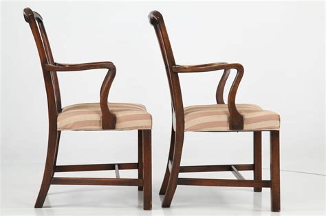 chippendale chairs set of six chippendale style antique dining chairs 19th century at 1stdibs