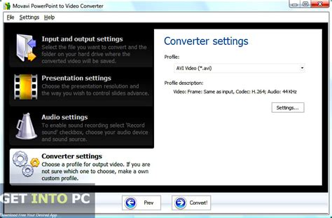 converter offline movavi powerpoint to video converter free download