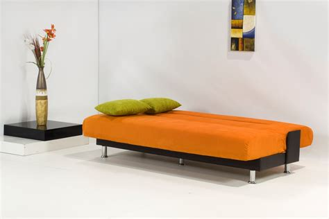 orange sofa bed smileydot us