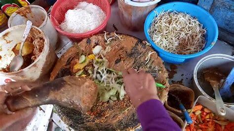 makan siang gado gado  ketoprak indonesian street