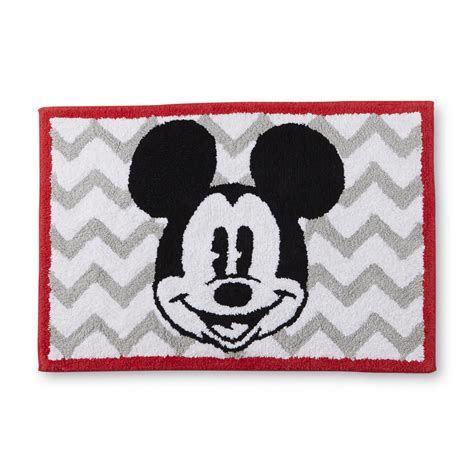 mickey mouse bath rug disney mickey mouse bath rug home bed bath bath bath towels rugs bath rugs mats