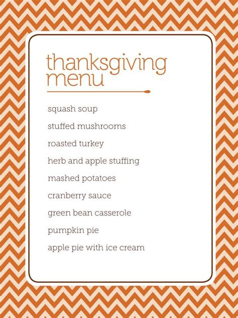 printable thanksgiving dinner planner download customizable thanksgiving menus hgtv