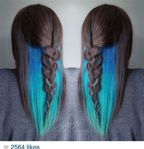 peek a boo color highlights 25 best ideas about peekaboo hair colors on
