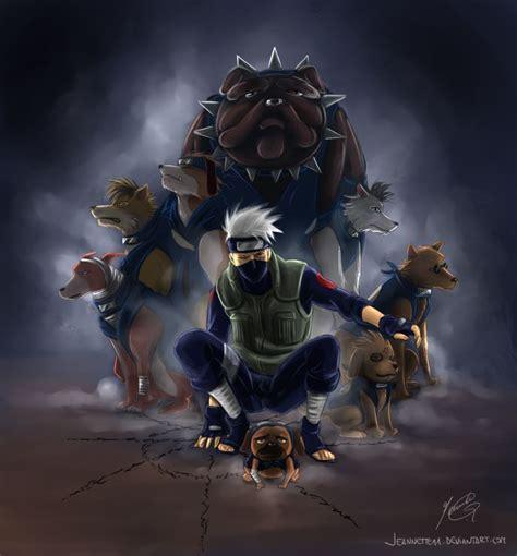 kakashi dogs kakashi and his dogs by jennette11 on deviantart kakashi hatake