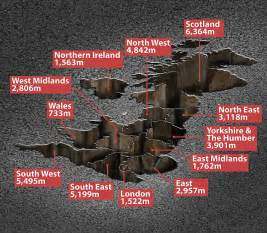 The UK's pothole pandemic measures in at 25 MILES DEEP