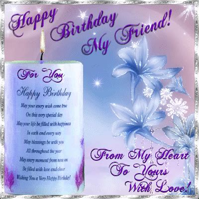birthday candle for you free for your friends ecards