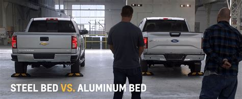 f150 aluminum bed 2016 silverado steel bed vs f 150 aluminum bed cox chevy