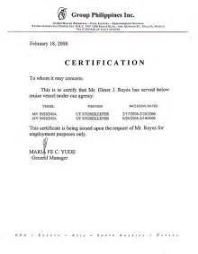 Certification Letter In The Philippines 6051674606 B8fe125c3d Z Jpg