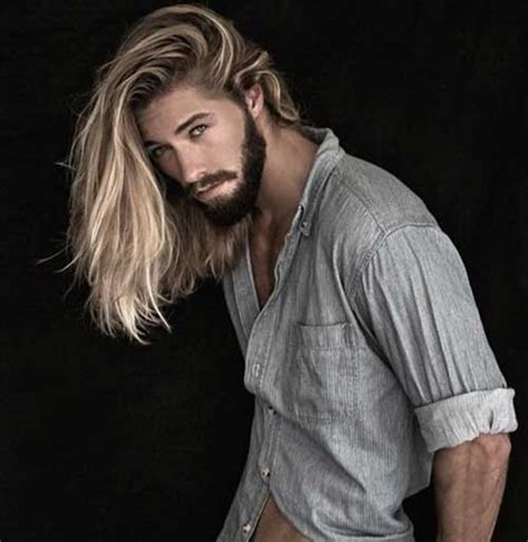 male models with long straight hair 30 best guy with long hair mens hairstyles 2018