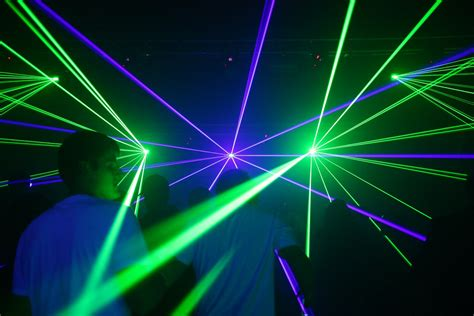 Light N Sounds Mobil lasershow bei den mobile club sounds januar 2012