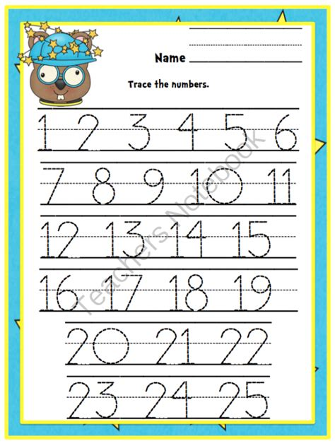 Tracing Numbers 1 50 Worksheets by Tracing Numbers 1 50 Images