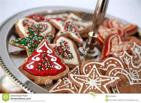 christmas cookies stock photo image