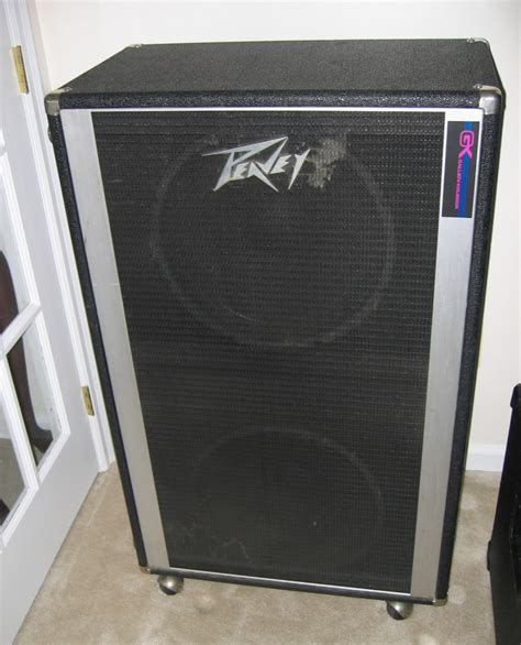 old peavey 4x12 cabinet sold f s vintage peavey 2x15 cabinet indestructible