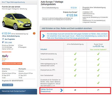 Auto Europe De by Auto Europe Im Neutralen Gro 223 En Mietwagen Preisvergleich De