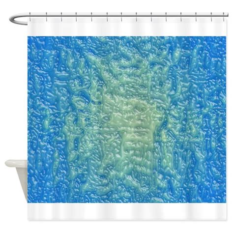 shower curtain plastic blue plastic shower curtain by ibeleiveimages