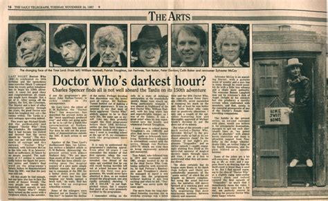 darkest hour your everyday disaster doctor who s darkest hour the doctor who cuttings archive